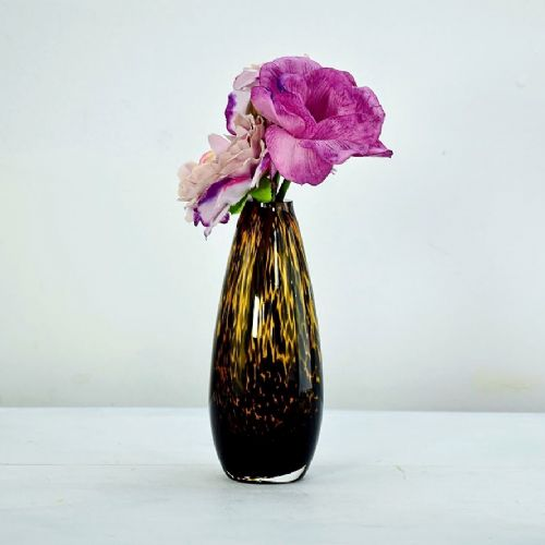Single Stem Vase Leopard 19cm
